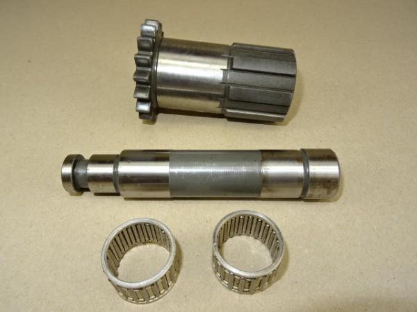 Hohlwelle + Achse 225 100 080 050 für Getriebe vom Fendt GT F 230 GT 225 GT 231 S Geräteträger Trakt