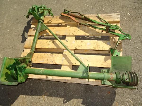 2 x Halter / Halterung Vorderradkotflügel vom Porsche Diesel Traktor Schlepper