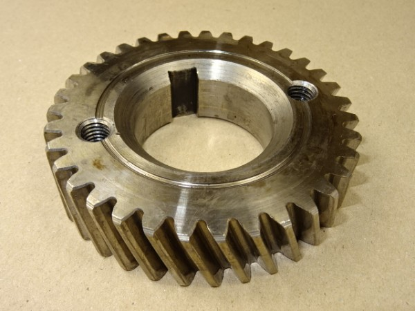 Zahnrad für Kurbelwelle vom Deutz F2L 812 Motor für Deutz D25 D30 Traktor