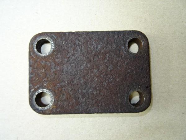 Blindflansch Deckel für Zylinderkopf D52 D57 Motor vom Hanomag R40 R45 R55 R450 R460 Traktor