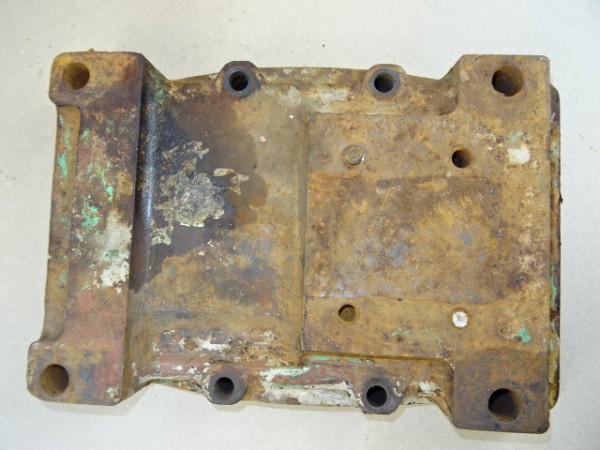 Getriebedeckel V2 1741 13 Deckel für ZP A5 Getriebe vom Fahr D130 H Traktor