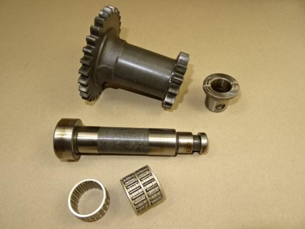Doppelzahnrad + Achse 225 100 080 030 für Getriebe vom Fendt GT F 230 225 231 S Geräteträger Traktor