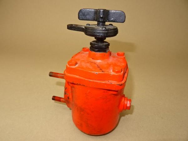 Schmierölfilter Ölspaltfilter (Ratsche defekt) vom MWM KD 415 Z Motor für Fendt Dieselross F25 F28 T