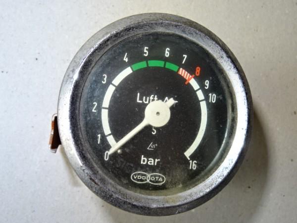 Luftdruckmesser von VDO für Kompressor - 16 Bar