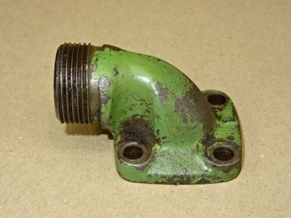 Ansaugflansch für Hydraulikpumpe vom Fendt GT F 230 Geräteträger Traktor