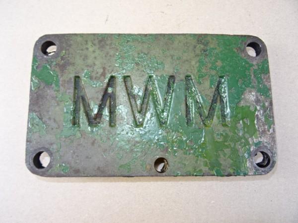 Lukendeckel KD 1111 für MWM KDW 415 E Motor vom Hela Lanz D15 Traktor