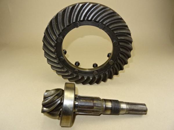 Kegel und Tellerrad Tellerradsatz für Getriebe vom Fendt GT F 230 GT 225 Geräteträger Traktor