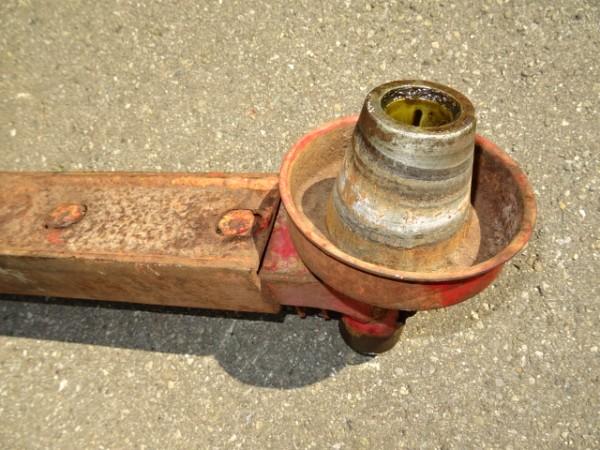 Keilriemenscheibe für Lichtmaschine vom Eicher EDK 3a Motor für Traktor