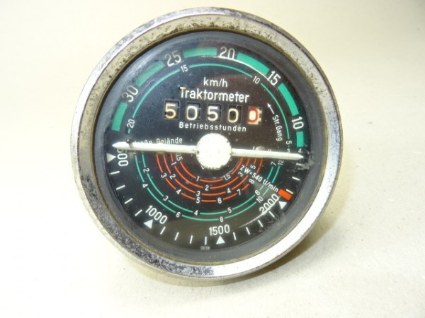 Traktormeter Tacho Stundenzähler Fiat Traktor 450 500 640