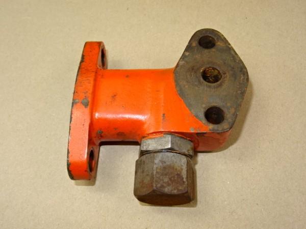Gehäusehalterung für Schmierölfilter vom MWM KD 415 Z Motor für Fendt Dieselross F25 F28 Traktor