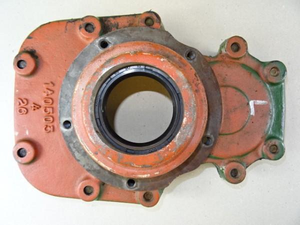 Gehäusedeckel für Hinterachsrohr links vom Hela Lanz D15 Traktor Schlepper