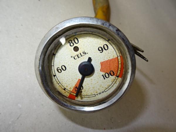 VDO Temperaturmesser (funktioniert) für Porsche Diesel und andere Traktoren