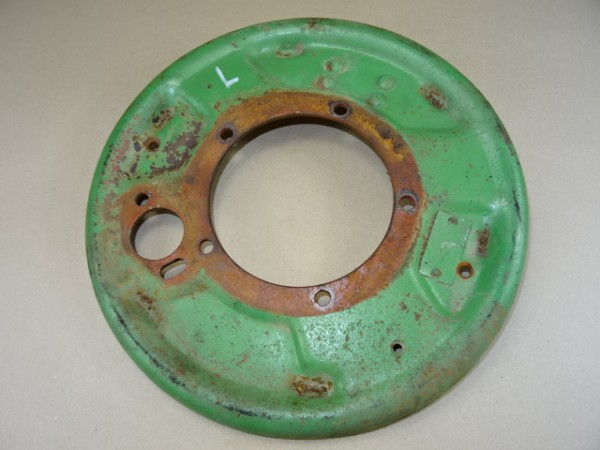 Bremsankerplatte links Nr. 133L Bremse Bremsen Fendt Dieselross F24 W Traktor