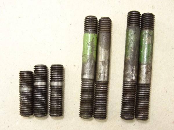 Stiftschraube vom MWM KDW 415 E Motor für Fendt Dieselross F15 oder Hela D14 D15 Traktor