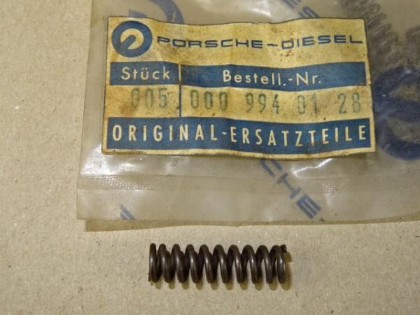Druckfeder 000 994 01 28 Feder (L. 25,5 mm; Ø 7,5 mm) für Porsche Diesel Traktor
