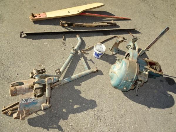 Lenkstockhebel für Lenkgetriebe für Allgaier Porsche AP17 Traktor Schlepper