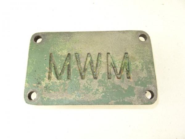 Deckel Motordeckel vom MWM KDW 415 E Motor für Fendt F15 u. Hela D14 D15 Traktor
