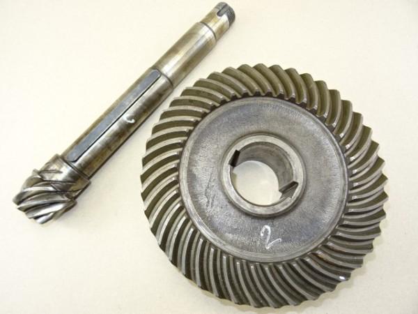 Kegelritzel Tellerrad für Deutz T25 Getriebe vom Porsche Diesel 219 Traktor Schlepper